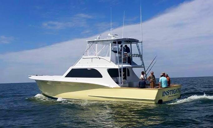 Enjoy Fishing In Virginia Beach,Virginai With Captain Josh