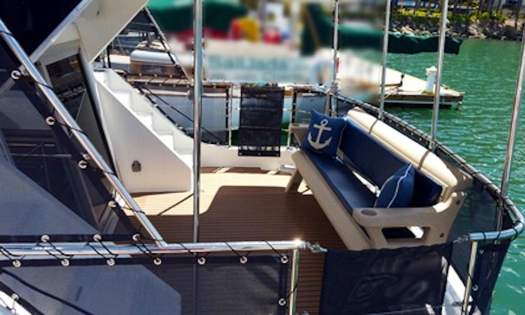 Charter 50ft Bella Luna Luxury Motor Yacht In San Diego