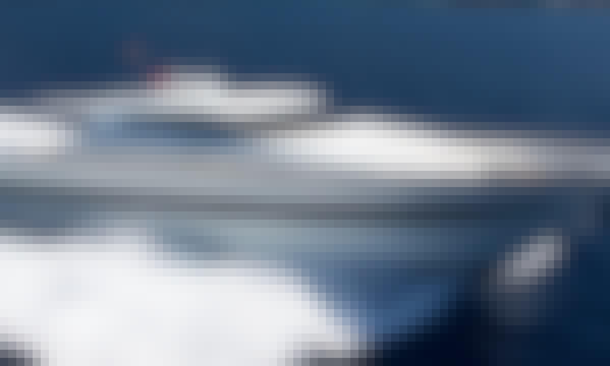 "Captained Charter ""First Lady"" Tecnomar Velvet 26 Super Yacht in Portals Nous, Spain"