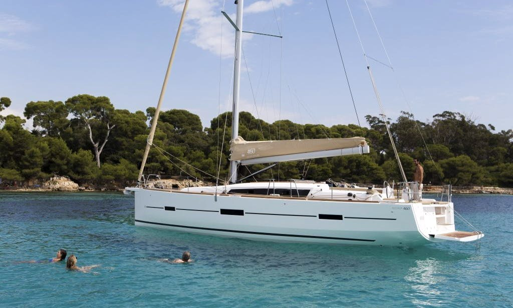 "Dufour 460 GL ""Mojito"" Sailing Yacht Charter in Arrecife, Spain"