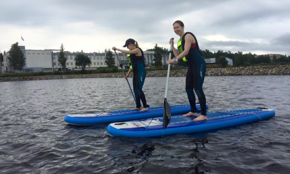 Enjoy Stand Up Paddleboard Rental and Tours in Kuopio, Finland