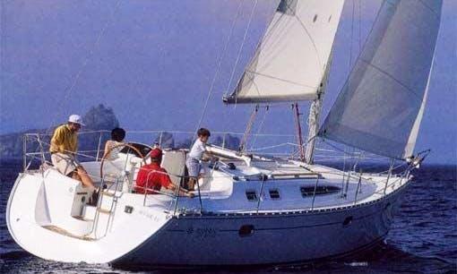 Enjoy San Vincenzo, Italy on 40' Sun Odyssey Sailboat