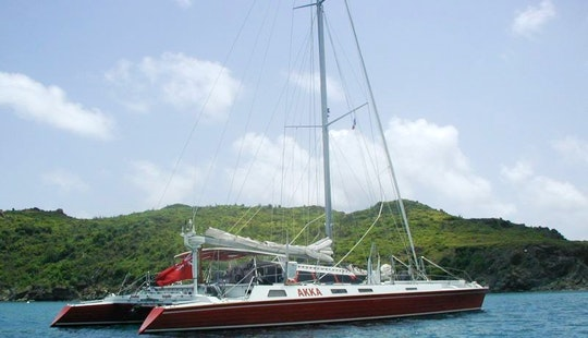 68ft Cruising Catamaran In Simpson Bay, Sint Maarten