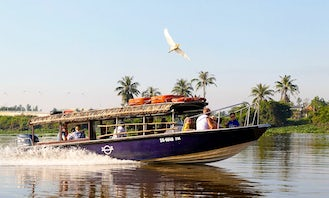 Scenic Speedboat Trip On The Mekong River