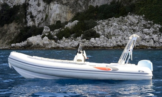 Rent 18' Rigid Inflatable Boat D540 In Sorrento, Italy