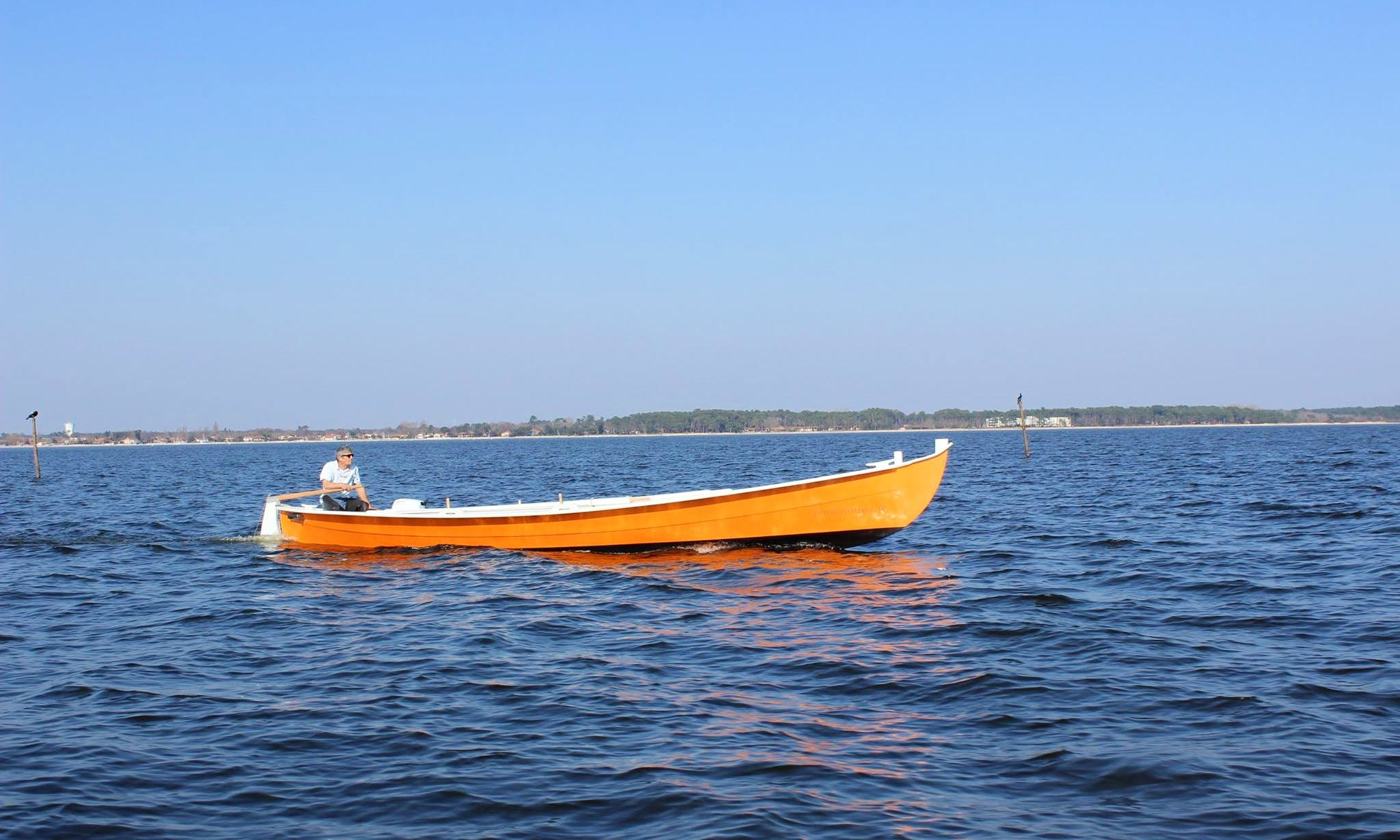 Experience the Bay of Arcachon, France on a Traditional Boat
