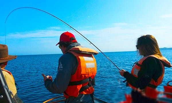 Family Fishing Trip In Puerto Varas, Chile