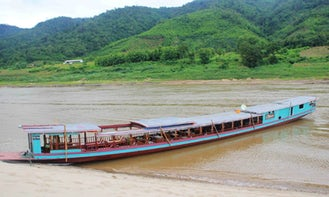 Mekong River Cruises in Laos on 114' Traditional Boat