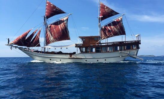 Sailing Gulet Cruise In Komodo National Park