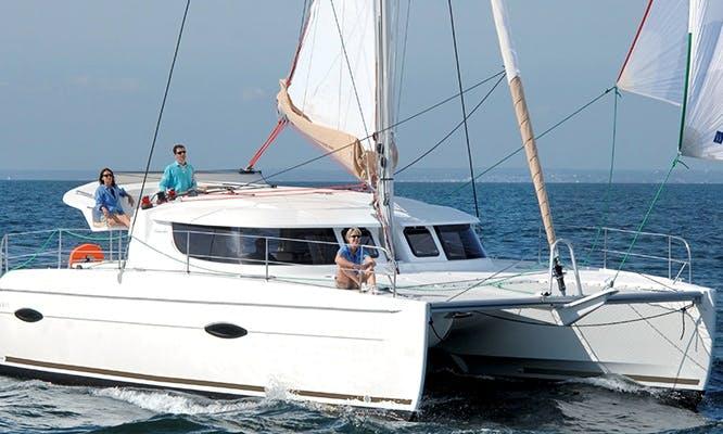 2015 Lipari 41 Cruising Catamaran Charter, Phuket