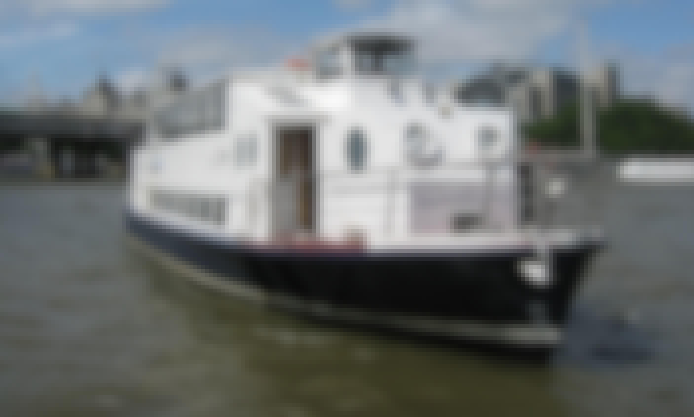Charter King Edward Passenger Boat in London, England