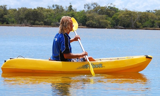 Enjoy Single Kayak Tours And Hire In Lord Howe Island, New South Wales