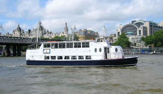 Charter King Edward Passenger Boat In London, England