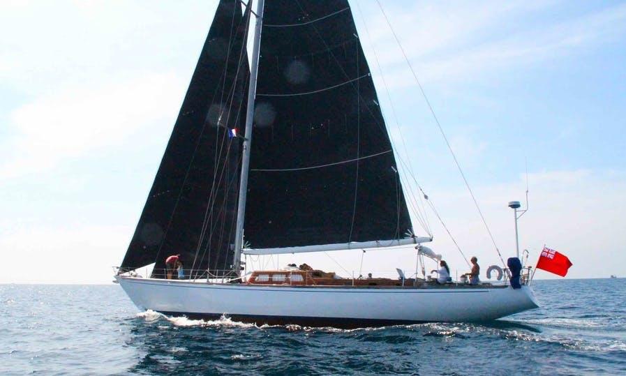Charter a Sailing 72'  Wooden Cutter in Kawthoung, Mynamar