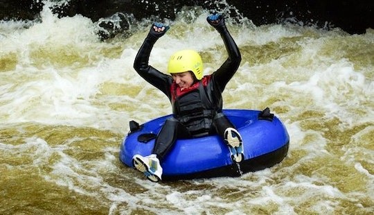 White Water Tubing In Portinscale, England