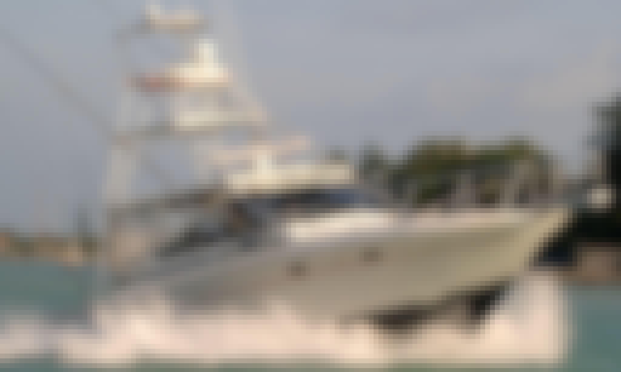 "Fishing Charter on 40ft ""Cara Mia"" Boat in Marathon, Florida"