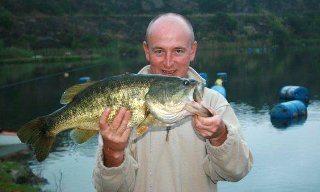 how to catch bass in south africa