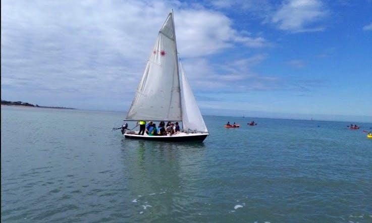 Dinghy Sailing in Sanlúcar de Barrameda, Cadiz