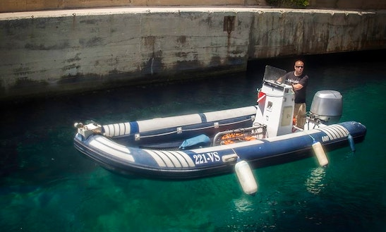 Enjoy Diving Trips And Courses At Island Of Vis In Croatia On Rigid Inflatable Boat
