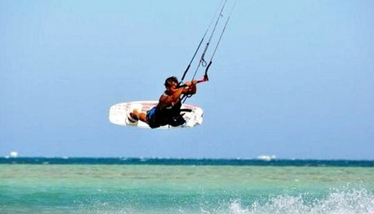 Kiteboarding In South Sinai Governorate, Egypt