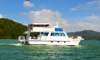 Enjoy Fishing in Port Douglas, Australia on 52' Power Catamaran