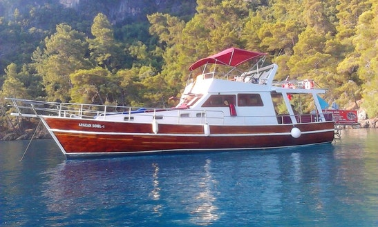 Enjoy Muğla, Turkey On 49' Motor Yacht