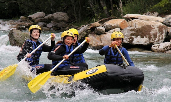 Enjoy Rafting Trips In Flattach, Austria