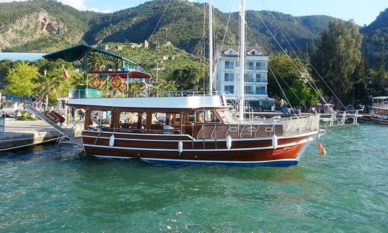 Sergen K Sailing Private Boat In Fethiye