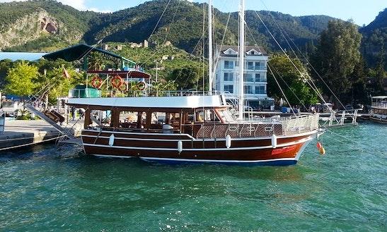 Sergen K Sailing Private Boat In Fethiye