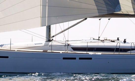 Jeanneau Sun Odyssey 449 Arisaghia Cruising Monohull Rental In Agropoli