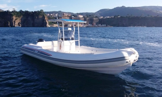 Rubber Dinghy Selva D.730 In Sorrento, Italy