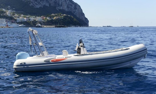 Rubber Dinghy Selva D.570 In Sorrento, Italy