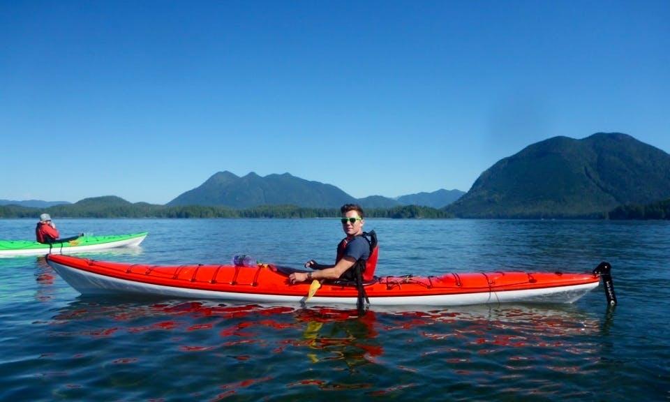 Kayak and Camping Adventure Tours in Tofino, British Columbia