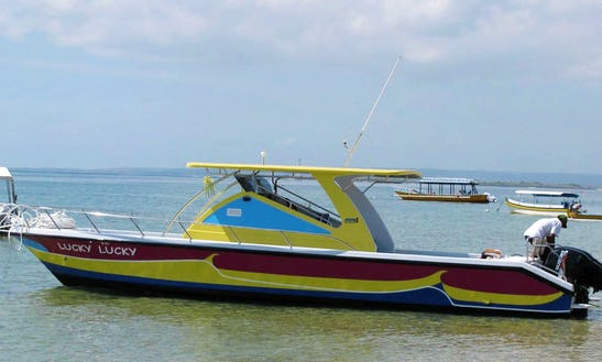 Enjoy Fishing In Kuta Selatan, Bali On 32' Cuddy Cabin