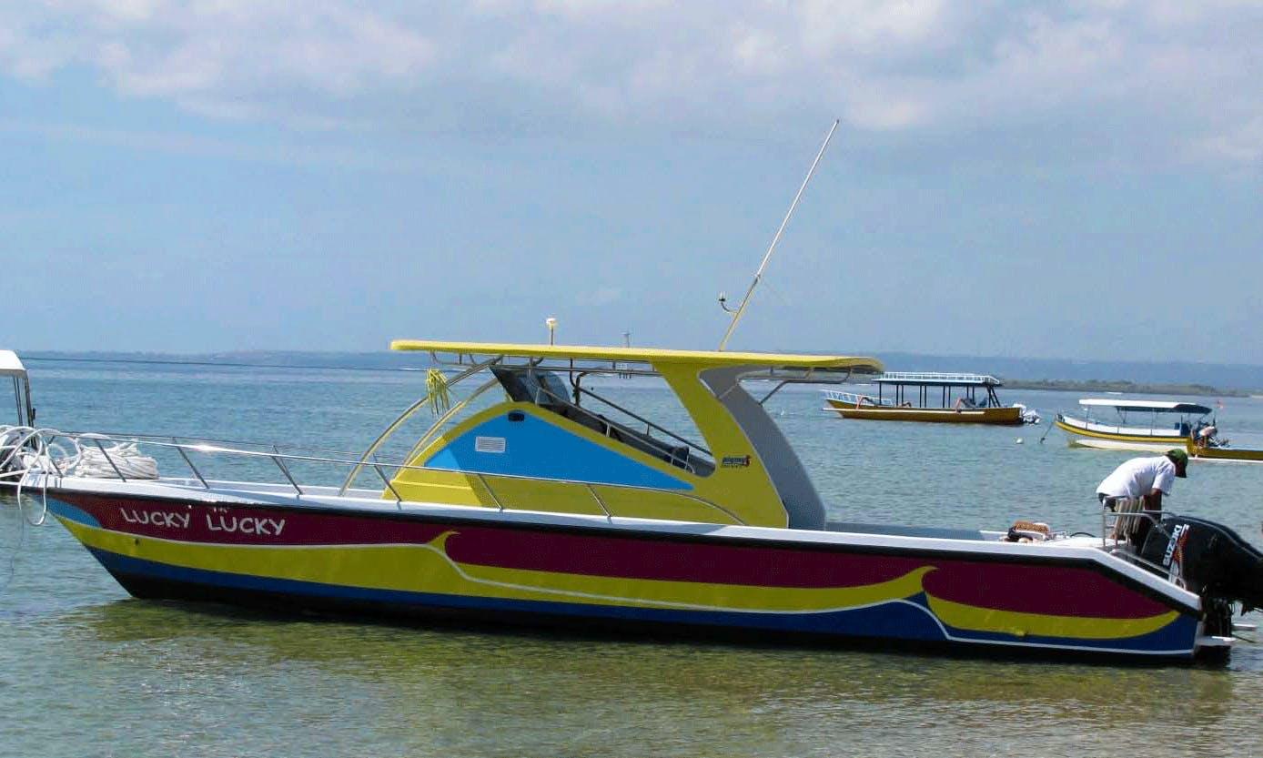 32' Fishing Charter in Kuta Selatan, Bali on 32' Cuddy Cabin