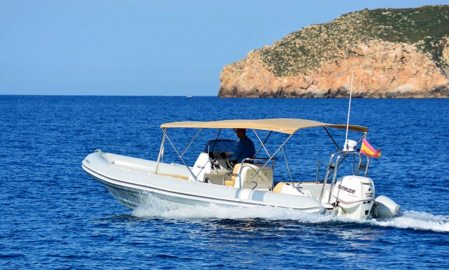 Explore Mallorca, Spain On 26ft Picton Cobra Inflatable Boat