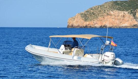 Explore Mallorca, Spain On 26ft Picton Cobra Inflatable Boat
