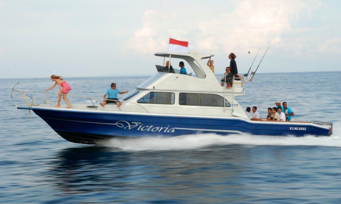 Enjoy Fishing in Kuta Selatan, Bali on 39' Sport Fisherman