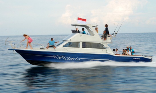 Enjoy Fishing In Kuta Selatan, Bali On 39' Sport Fisherman