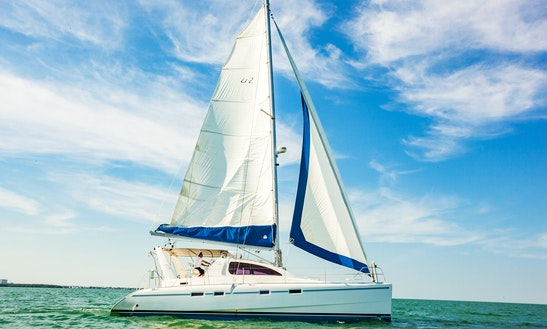 Luxury Catamaran Calypso With Summerallthetime Sailing Co