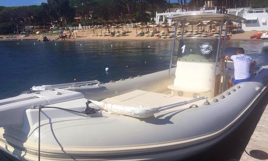Rent 30' Rigid Inflatable Boat In Sardegna, Italy