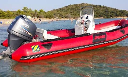 Rent A 17' Rigid Inflatable Boat In Graz, Austria