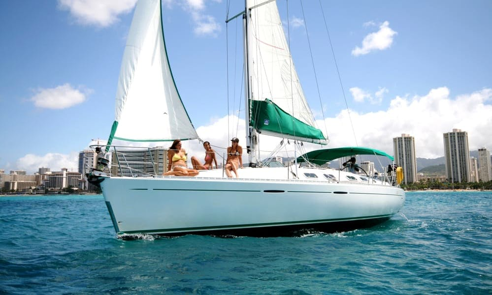 "Enjoy ""Gauguin"" Beneteau First 42.7 Monohull Charter in Honolulu, Hawaii"