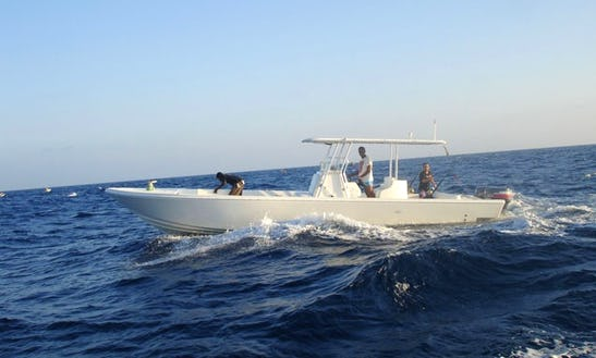 Enjoy Fishing In Kizimkazi, Tanzania On 34' Center Console