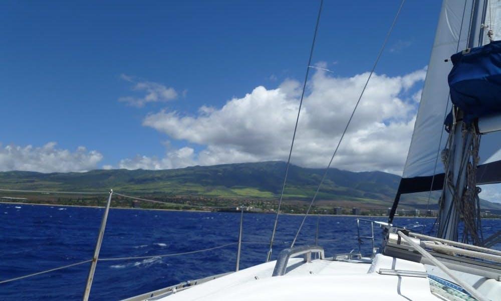 40' Beneteau Oceanis 393 located at _Kewalo Basin Harbor 1125 Ala Moana Blvd Honolulu96814