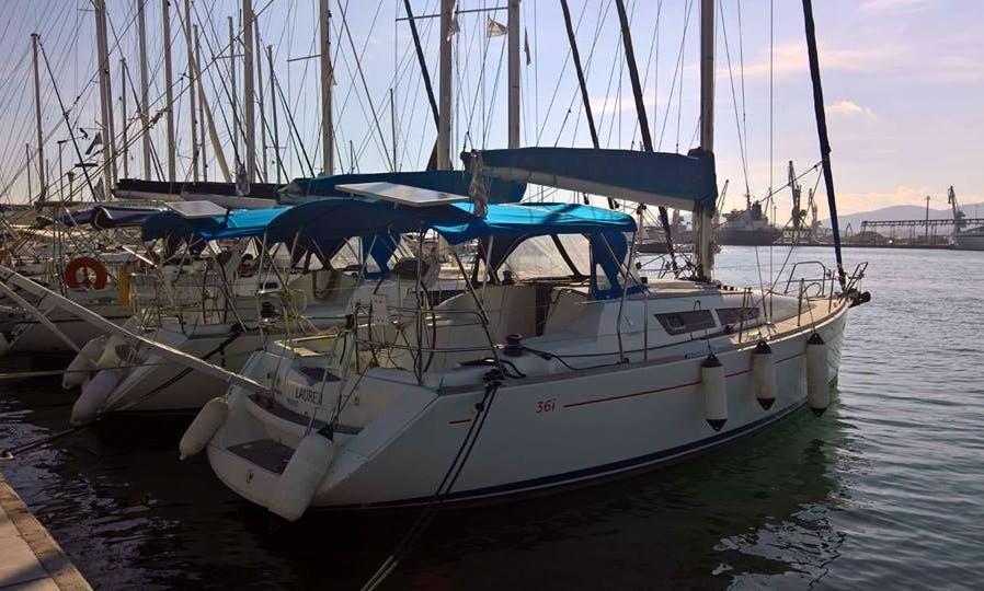 "36ft Sun Odyssey ""Lauren"" Sailboat in Larisa, Greece"