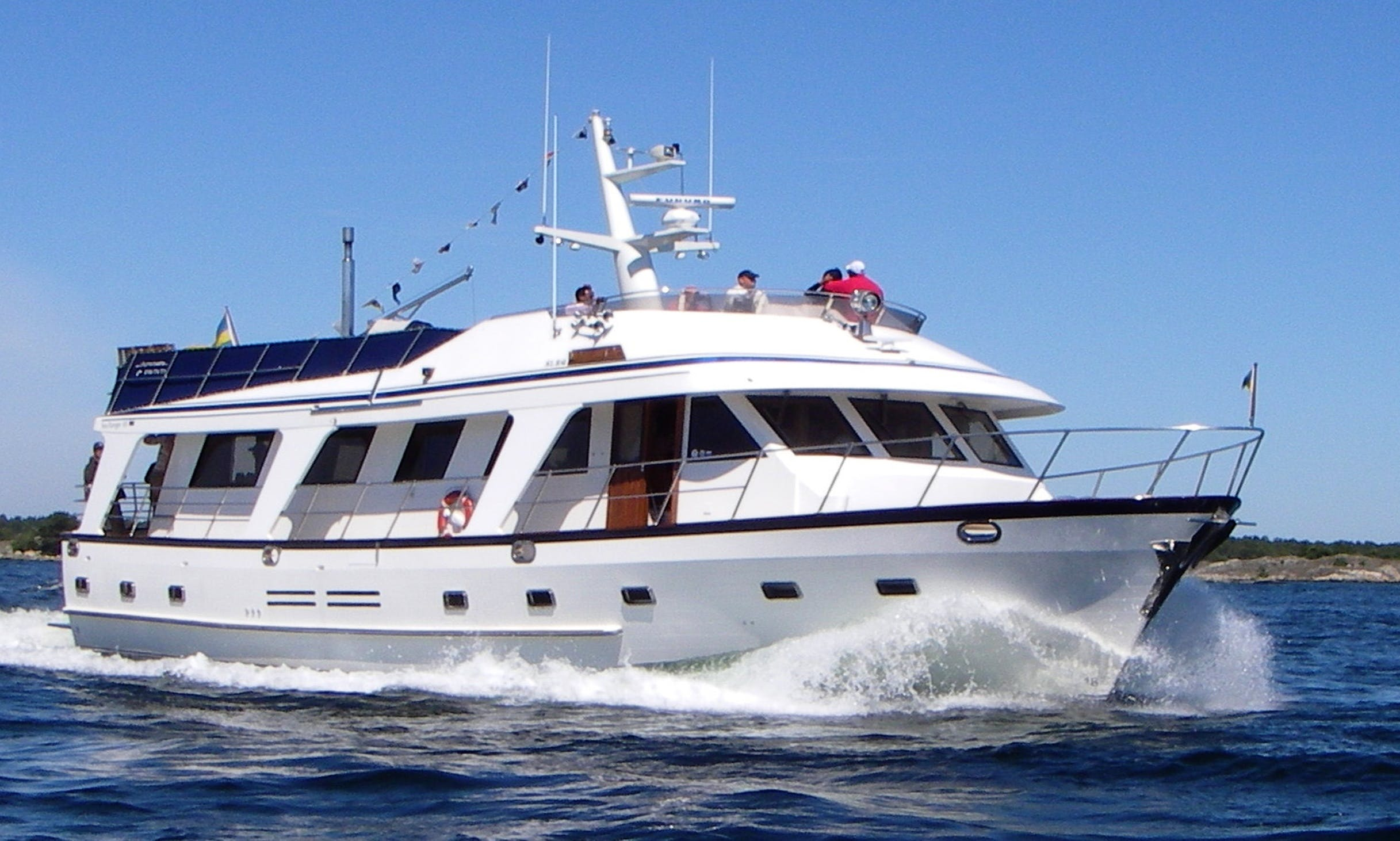 M/Y Charm, 65' Motor Yacht Charter in Stockholm, Sweden