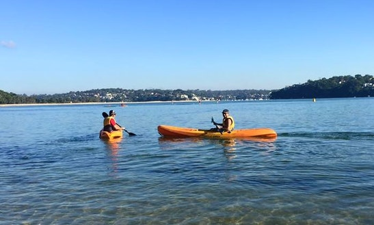 Enjoy Single Kayak Hire And Lessons In Bundeena, New South Wales