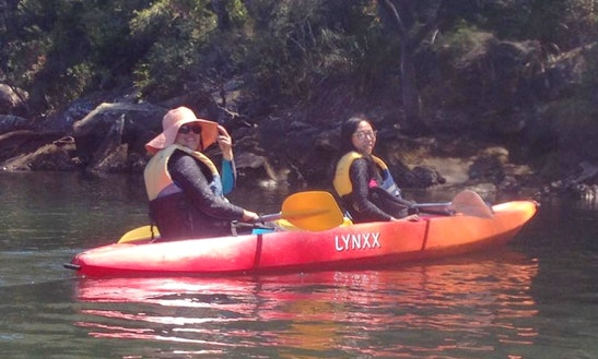 Enjoy Double Kayak Hire And Lessons In Bundeena, New South Wales