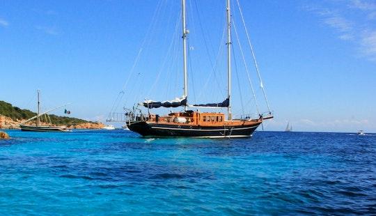 Gulet Smart Spirit I (28m) For Charter In French Riviera Corsica Sardinia